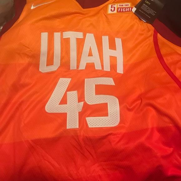 the best attitude f9ff5 1e1d4 Utah Jazz Mitchell 45 Jersey XL NWT